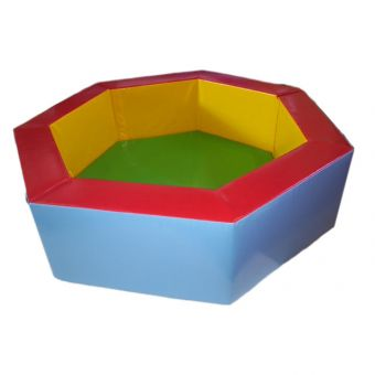 "7 Sided 5 ft 9"" Ball Pond"