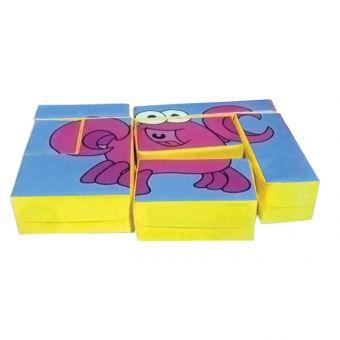 Crab Puzzle Block