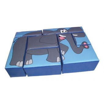 Elephant Puzzle Block