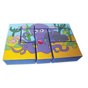Octopus Puzzle Block