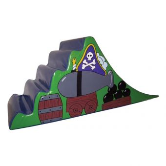 Pirate Steps And Slide