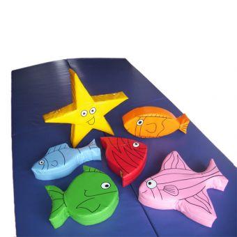 Set of 6 Fish