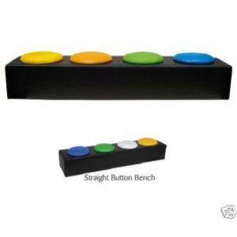 Nursery Straight Button Bench