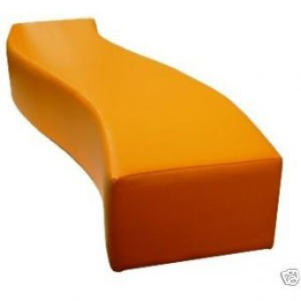 S Curved Nursery Beach Seat