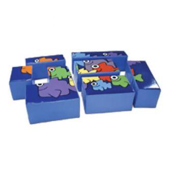 Ocean Puzzle Block