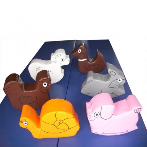 Set of 6 Farm Animals