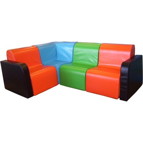 Kids Modular Chair with Arm